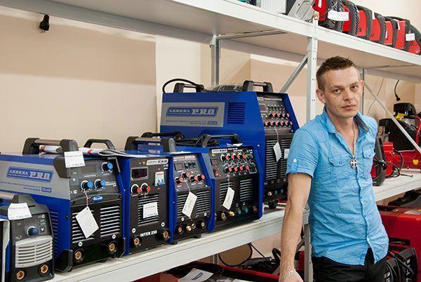 Сварочное оборудование в магазине в Великом Новгороде