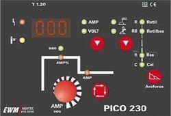 Pico 230 Панель управления