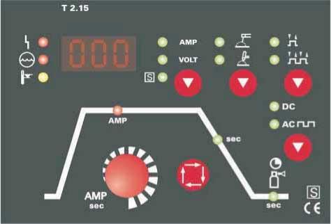 Панель управления EWM PICOTIG AC/DC