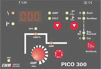 EWM Pico 300 panel